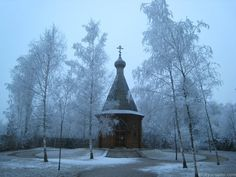 Russian Orthodox Chapel in the grounds of the Dachau concentration camp