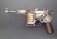 Mauser Bolo pistol [OC] (x-post r-guns) Military Weapons, Weapons Guns, Guns And Ammo, Lego Military, Military Art, Russian Nuclear Submarine, Shooting Guns, Shooting Range, History Online