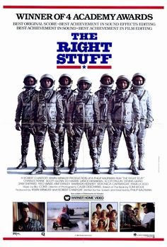 The Right Stuff (1983). The true story of America's first astronauts.