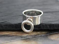 Handmade Silver Ring of O by SilverStellaJewel on Etsy https://www.etsy.com/listing/463102553/handmade-silver-ring-of-o