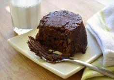 "2 minute ""healthy"" microwave pb and chocolate cake"