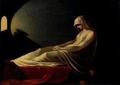 Vestal Virgin Condemned to Death~ Painting of Vestal by Pietro Saja