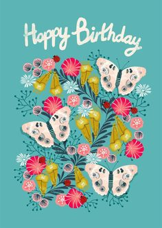 Find more great greeting cards or create your own on the thortful apps. Happy Birthday In Spanish, Happy Birthday Greetings Friends, Birthday Doodle, Happy Birthday Wallpaper, Happy Birthday Celebration, Happy Birthday Flower, Birthday Wishes Messages, Cool Birthday Cards, Birthday Blessings