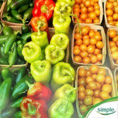 Excellent guidebook to seasonal Farmer's Market picks. #SimpleInspiration #nutrition