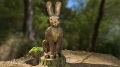 The Scary Hare at Faringdon Folly by public-art.uk