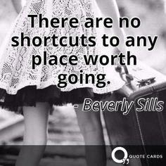 There are no shortcuts. #TuesdayMotivation #TravelTuesday #QuoteCards