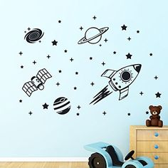 Rocket Outer Space Planets Ship Vinyl Wall Sticker Decor ... https://www.amazon.co.uk/dp/B073RK83ZJ/ref=cm_sw_r_pi_dp_x_qaHcAb4ZS40AZ