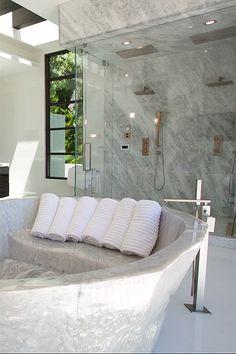 Marble Bathroom ::
