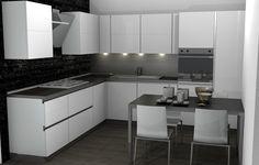 Cucina SAX Scavolini white by #Scavolini #Sax #kitchen #kitchens ...