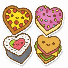 Yummy Luv Sticker Pack