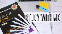 do you prefer longer or shorter study with me's? thanks for watching:) French Revision, Gcse French, Aqa, Study, Make It Yourself, School, Youtube, Studio, Studying