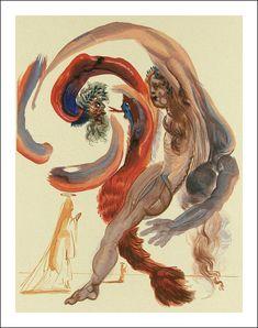 Salvador Dalí - Divina Commedia, Purgatorio 1
