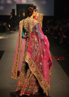 wow, great colors! myShaadi.in > Indian Bridal Wear by Ritu Kumar