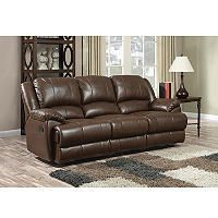 Gentil Ou0027Connor Leather Motion Sofa