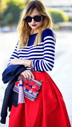 love the top, stripes and color