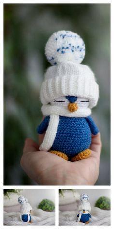Crochet animals 170644273368390812 - Amigurumi Small Cute Penguin Free Pattern – Free Amigurumi Patterns Source by aquadragontg Poncho Crochet, Crochet Amigurumi Free Patterns, Christmas Crochet Patterns, Crochet Animal Patterns, Stuffed Animal Patterns, Cute Crochet, Crochet Crafts, Crochet Dolls, Knitting Patterns