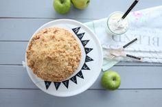 Leckeres Rezept für versunkenen Apfelkuchen//Delicious Recipe for an apple cake