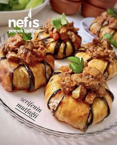Image may contain: food - Dinner Recipe Lunch Recipes, Meat Recipes, Healthy Recipes, Delicious Recipes, Good Food, Yummy Food, Tasty, Turkish Recipes, Ethnic Recipes
