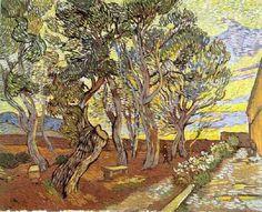 Vincent van Gogh: The Paintings (The Garden of Saint-Paul Hospital) 1889