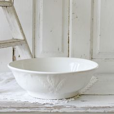 Ironstone bowl.