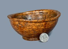 Small Burl Bowl, late 18th or early 19th century