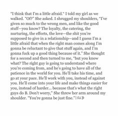 Yes girl. Gave my all to some one i thought i was spending forever with. And felt the same and found someone wonderful.