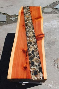 wood epoxy furniture