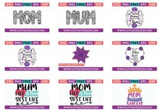 Fields Of Heather: Where To Find Free SVG's  Cricut Projects For Mothers Day Project Free, Project Ideas, Projects, Great Mothers Day Gifts, Mother Day Gifts, I Love Glitter Font, Cricut Tutorials, Kid Names, Step By Step Instructions