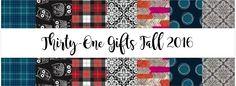 Thirty-One Gifts - Fall 2016 Prints and Patterns! #ThirtyOneGifts #ThirtyOne…