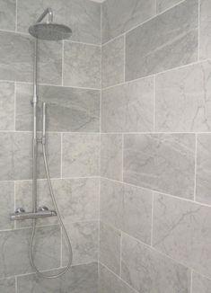 Small Bathroom Grey Bathroom Tiles Bathroom Grey Bathrooms Regarding Grey Bathroom Tiles Small Grey Bathrooms, Grey Bathroom Tiles, Bathroom Flooring, Master Bathroom, Grey Tiles, Wall Tiles, Tiled Bathrooms, Master Shower, Gray Shower Tile