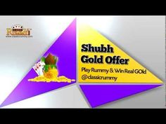 Classic Rummy, the ultimate destination for Indian Rummy Online, launches the SHUBH Gold offer. As per this offer, 30 lucky players who play rummy on the site, will win one 1 gm gold coin on a daily basis for all the 30 days of the month. The winner will be picked by lucky draw. https://www.classicrummy.com/online-rummy-promotions?link_name=CR-12