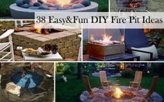 10 Easy Tips AND Tricks: Fire Pit Furniture Friends small fire pit backyard designs. Fire Pit Party, Diy Fire Pit, Garden Fire Pit, Fire Pit Backyard, Bar Patio, Fire Pit Plans, Fire Pit With Rocks, Fire Pit Chairs, Fire Pit Landscaping