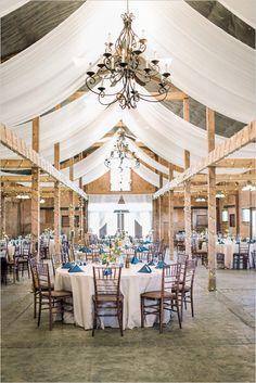beautiful barn reception @weddingchicks