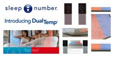 SLEEP NUMBER® DualTemp™ Mattress Layer Review – From a Hot & Cold Household #SleepNumber #DualTemp