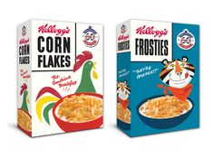 Vintage Kellogg's packaging for the Jubilee