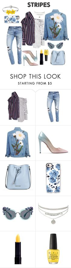 """""""Chick"""" by danica-ivovic on Polyvore featuring Monse, Abercrombie & Fitch, Prada, Armani Jeans, Casetify, Miu Miu and OPI"""