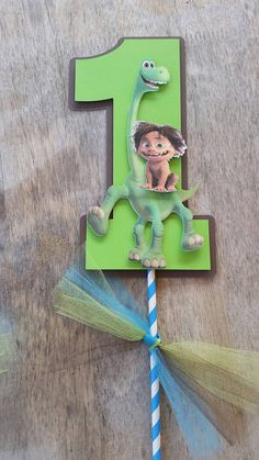 The good dinosaur centerpiecethe good by SilviasPartyDecor on Etsy