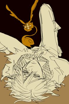 D gray man, I want new chapters.