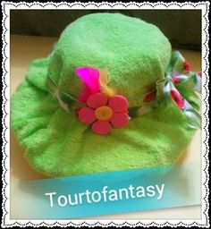 hat with diapers for nw born girl