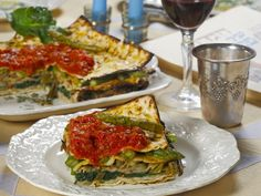 #Passover Italian-Style! Tortino d'Azzima (Matzo Pie) - great for the Vegetarians out there....