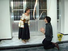 Rafa e Gabriele como Romeu e Julieta- encontrão de 2008.