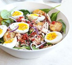 My favorite summer salad -now made with winter-friendly pantry ingredients!  Winter Salade Niçoise
