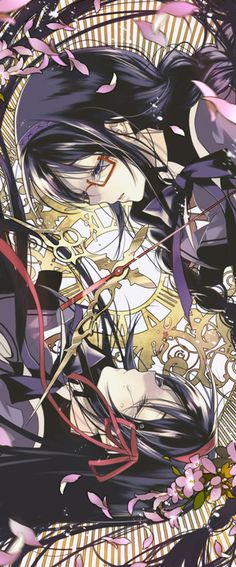 Can almost feel the spinning inwards force towards the image, just like Homura's buckler! Love the motion captured.