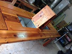 Another Way To Finish A Picnic Table Clear Polyurethane