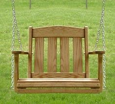 small porch swing - How To Find The Best Wooden Porch Swing In Low Price – Garden Design