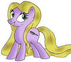 Rapunzel [as My Little Pony] (As My Little Pony by Azureea @deviantART) #Tangled