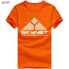Terminator Skynet Cyberdyne Systems Logo Tshirts
