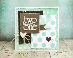 Wedding Card - Inspiration with Simple Stories PL Cards / Svatební blahopřání - Inspirace s PL kartičkami