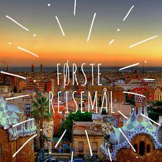 Enveisbilletter #barcelona  #travel