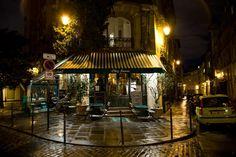 Chez Janou, Paris Chocolate mousse in the bowl